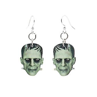 Frankenstein, brincos cortados com lase