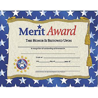 Merit Award Certificates, 30Ct