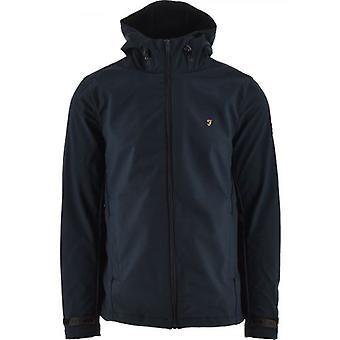 Farah Navy Bective Soft Shell Jacket