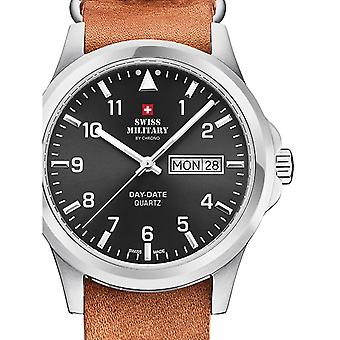Mens Watch Swiss Military Door Chrono SM34071.06, Quartz, 40mm, 5ATM