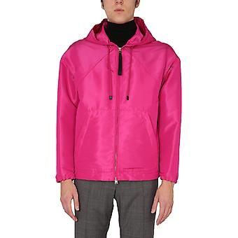 Tom Ford Bw087tfo559f05 Herren's Fuchsia Polyester Outerwear Jacke