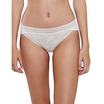 Miss Lejaby lirio blanco encaje de Maison Lejaby 16463-801 mujeres calzoncillos bragas Bikini