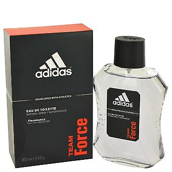 Adidas Team Force Eau De Toilette Spray af Adidas 3,4 oz Eau De Toilette Spray