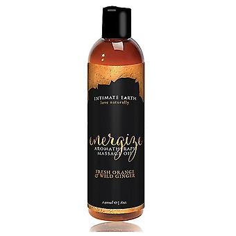 Intimate Earth Energizing Massage Oil