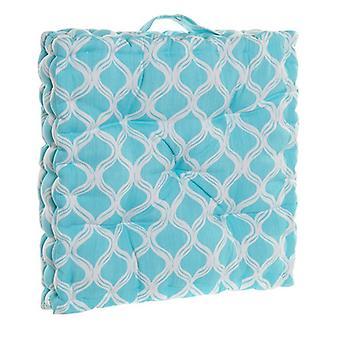 Cojín DKD Home Decor Sky blue Ocean Floor (43 x 43 x 7 cm)