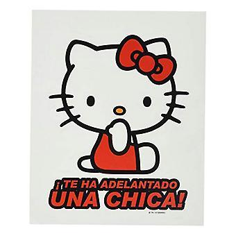 Bil klistermärke Hello Kitty