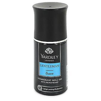 Yardley Herrasmies suave deodorantti roll-on alkoholiton mukaan yardley lontoo 1.7 oz deodorantti roll-on alkoholivapaa