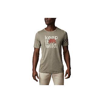 Columbia Terra Vale 1888843327 universell hele året menn t-skjorte