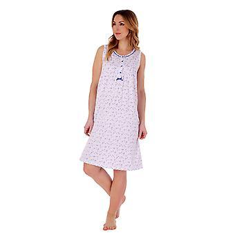 Slenderella ND77101 Women's Floral Cotton Nightdress