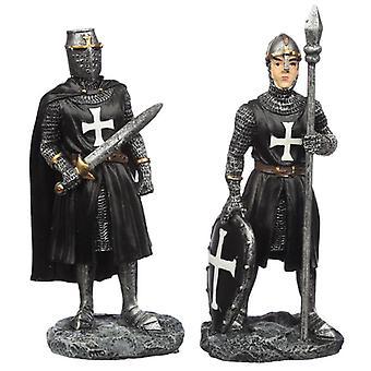 Cavaleiro das Trevas Colecionável com estatueta de espada 2 fornecida