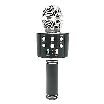 Metal High Sound Quality Handheld Ktv Karaoke Recording Bluetooth
