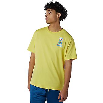 New Balance Men's Nb Essentials Tag T-Shirt Relaxed Fit