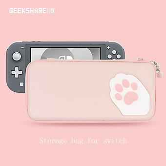Nintend Switch Lite Case Cat Claw Cp Storage Bag Silicone Hard Shell Cover