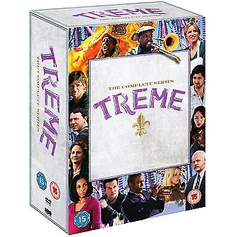 Treme - Ukończ sezon 1-4 DVD