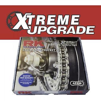 RK Xtreme oppgraderingskjede og tannhjulsett passer til Kawasaki ZXR750 R K1 (ZX750K) 91-95