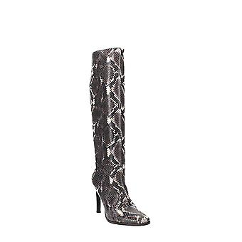 Sigerson Morrison | Kailey Snakeskin Embossed Knee High Boot
