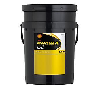 Shell 550033221 Rimula R3+ 30 20L Extra Performance Mono Grade Heavy Duty Diesel