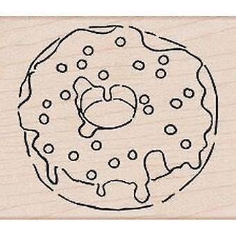Hero Arts Sprinkle Donut Rubber Stamp
