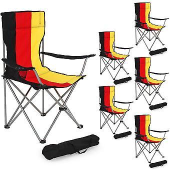tectake 6 Camping stoler singel - Tyskland