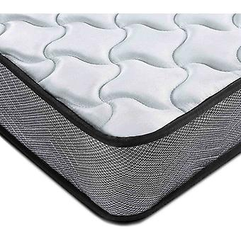 DZK Single Mattress 3FT Spring 3D Breathable Quilted Knitting Fabric Fire Resistant