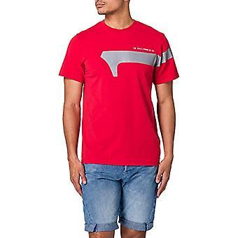 G-STAR RAW 1 Reflekterande grafisk T-shirt, Mörkt godis 336-c235, XXL Herr