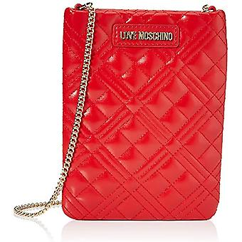 Love Moschino Bag Quilted Nappa PU, Woman, Red, Normal(3)