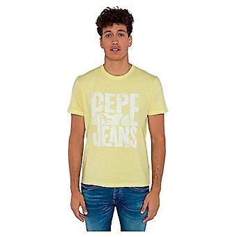 Pepe Jeans Milo T-Shirt, 014sorbet Lemon, L Uomo
