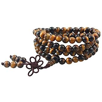 KYEYGWO 108 - Bracelet with Mala prayer pearls for men and women, 6 mm, with Tibetan Buddhist healing stone, unisex, Ref. 0635946998779