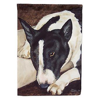 Caroline's Treasures Amb1030Gf Bull Terrier di Tanya e Craig Amberson Garden Flag, Piccolo, Multicolor