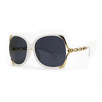 Ruby rocks cherry oversized sunglasses in crystal