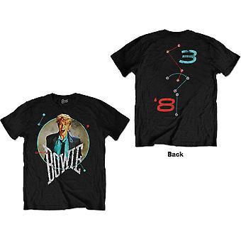David Bowie - Circle Scream Unisex Pieni T-paita - Musta