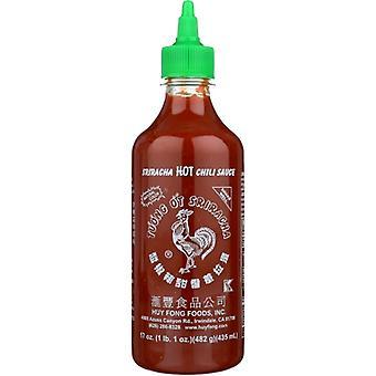 Huy Fong Sauce Chili Sriracha Hot, Case of 12 X 17 Oz