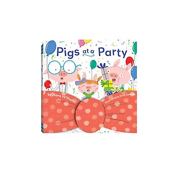 Pigs at a Party by Hans Wilhelm