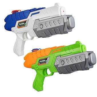 Toyvian 2pcs Large Water Guns Water Play Game Shooter Toy Summer Swimming Pool Beach Toy For Children Kids