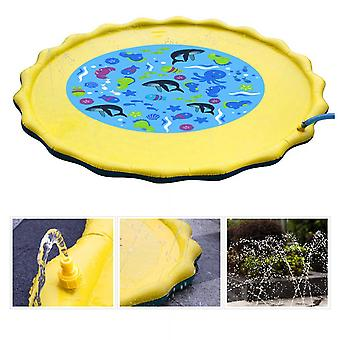 Pvc Toy Water Spray Pad And Summer Lawn Playing
