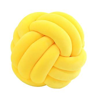 27cm Soft Knot Coussin Knotted Ball Pillow Sofa Decorative Throw Pillow Car Home Soft Toy Baby Nap Pillow