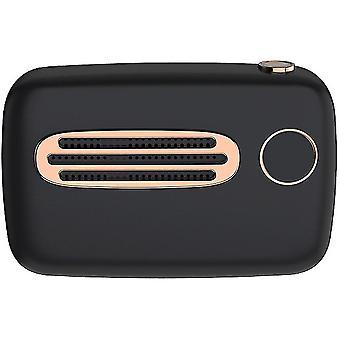 Sport all'aria aperta piccolo altoparlante portatile (nero)