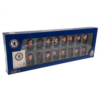 Chelsea FC 2020 Team SoccerStarz Football Figurine Set (Paket om 16)