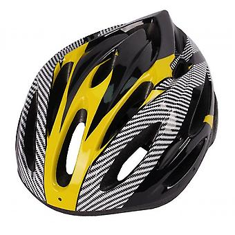 Cycling Helmets For Men And Women On Mountain Roads(Yellow)