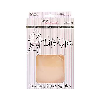 Secret Weapons Lift Ups SW-047 Women's Nude Breast Lifting Nipple Covers