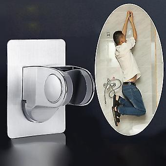 Faucets adjustable self adhesive handheld wall mounted showerhead holder
