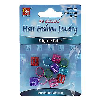 Hair Accessory Beauty Town 07802 Metal Balls Multicolour (8 mm)