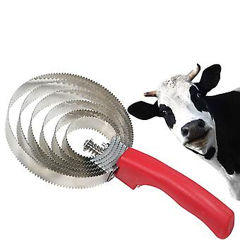 Hot Sale stainless steel 4/5/6 horse comb /cow/ horse /Cat /Dog Comb