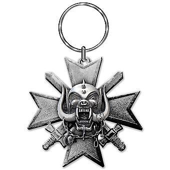 Motorhead nyckelring: dålig magi (die-cast relief)