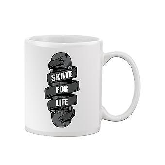Skate For Life Mug -SPIdeals Designs