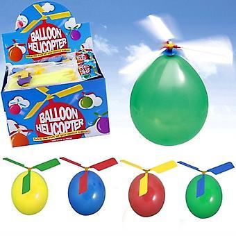 Ilmapallo helikopteri lentävä lelu lapsi syntymäpäivä joulu juhla laukku sukka täyteaine lahja