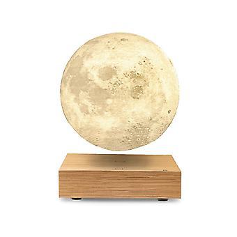 Gingko Naturholz Smart Led Floating Moon Schreibtischlampe (uk Stecker)