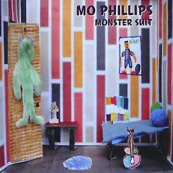 Mo Phillips - Monster Suit [CD] USA import