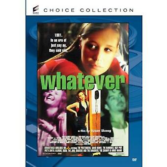 Whatever [DVD] USA import