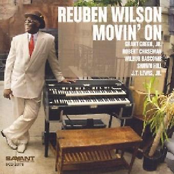 Reuben Wilson - Movin ' on importation USA [CD]